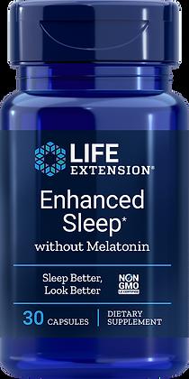 Enhanced Sleep without Melatonin, 30 caps