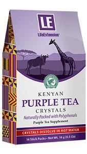 Kenyan Purple Tea Crystals, 14 stick packs (14 g)