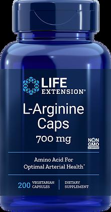 L-Arginine Caps, 700 mg, 200 veg caps