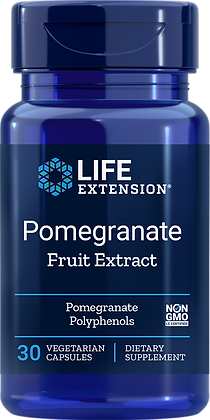 Pomegranate Fruit Extract, 30 veg caps