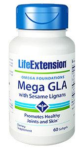 Mega GLA with Sesame Lignans, 60 softgels