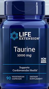 Taurine  |  1000 mg, 90 caps