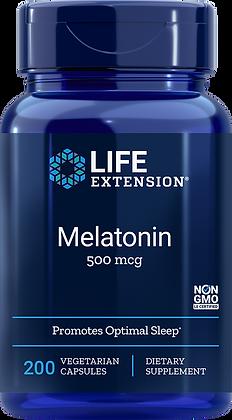 Melatonin, 500 mcg, 200 veg caps