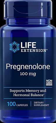 Pregnenolone, 100 mg, 100 caps