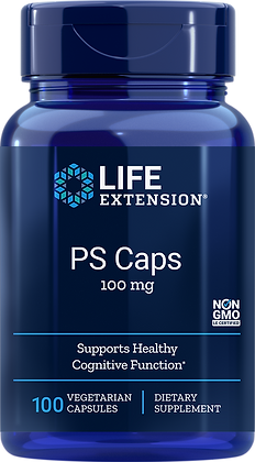 PS Caps, 100 mg, 100 caps