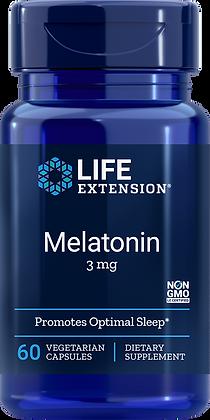 Melatonin, 3 mg, 60 veg caps