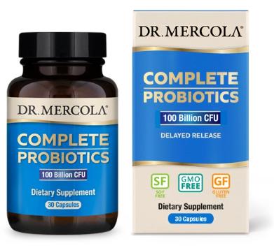 Complete Probiotics: 100 Billion CFU