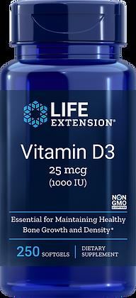 Vitamin D3  | 1,000 IU