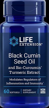 Black Cumin Seed Oil with Bio-Curcumin, 60 softgels