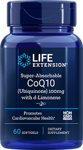 Super-Absorbable CoQ10 (Ubiquinone),  100 mg