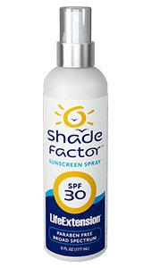 Shade Factor Sunscreen Spray SPF 30,  6 fl oz