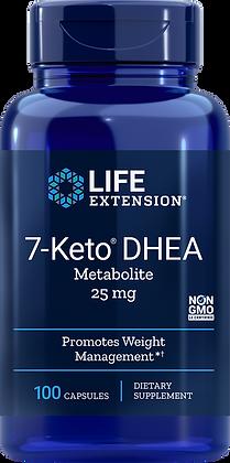 7-Keto DHEA, 25 mg, 100 caps