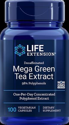 Mega Green Tea Extract, Decaffeinated, 100 veg caps