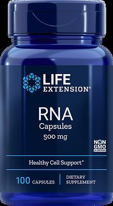 RNA Capsules, 500 mg, 100 caps
