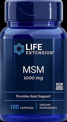 MSM, 1000 mg, 100 caps