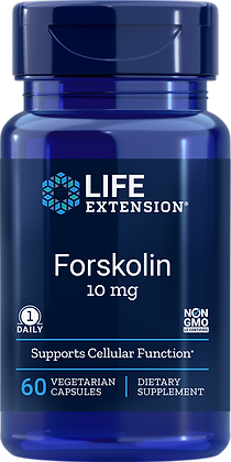 Forskolin, 10 mg, 60 veg caps