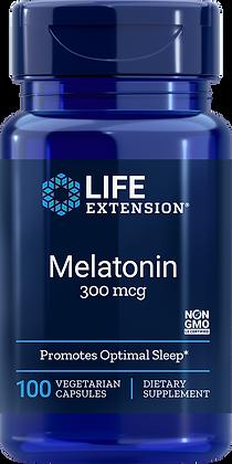 Melatonin, 300 mcg, 100 caps