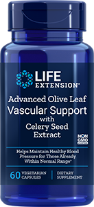 Advanced Olive Leaf Vascular Support w/ Celery Seed Extract