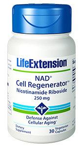 NAD+ Cell Regenerator, 250 mg, 30 veg caps