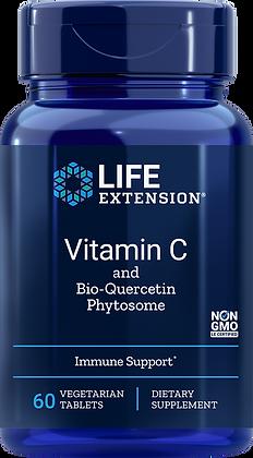 Vitamin C and Bio-Quercetin Phytosome 60 tabs