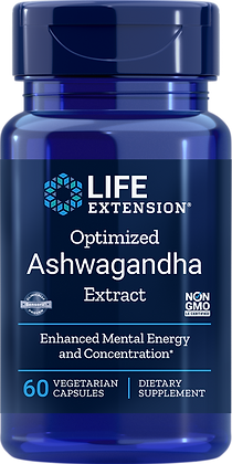 Optimized Ashwagandha Extract, 60 veg caps
