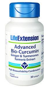 Advanced Bio-Curcumin with Ginger & Turmerones Turmeric Extract, 30 softgels