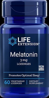 Melatonin, 3 mg, 60 veg lozenges