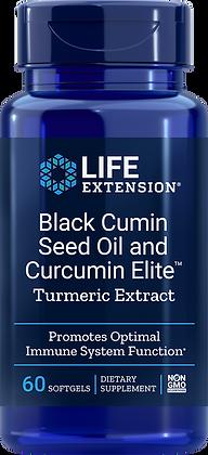 Black Cumin Seed Oil with Curcumin Elite™ Turmeric Extract