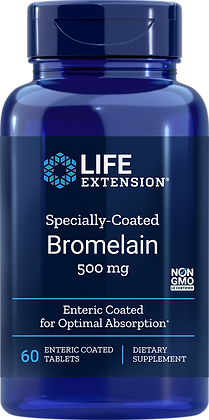 Specially-Coated Bromelain, 500 mg, 60 tabs
