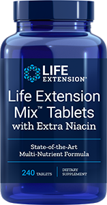 Life Extension Mix™ Tablets with Extra Niacin