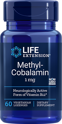 Methylcobalamin, 1 mg, 60 veg lozenges