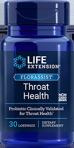 FLORASSIST Throat Health, 30 lozenges