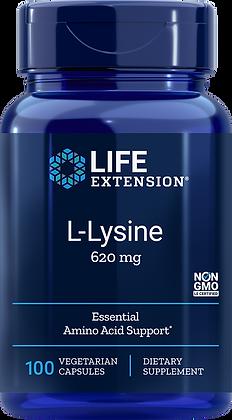 L-Lysine, 620 mg, 100 caps