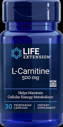 L-Carnitine, 500 mg, 30 veg caps