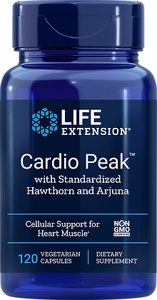 Cardio Peak with Standardized Hawthorn and Arjuna