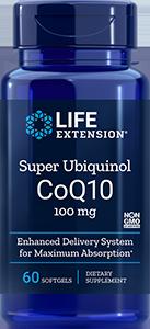 Super Ubiquinol CoQ10, 100 mg, 60 softgels