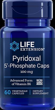 Pyridoxal 5'-Phosphate Caps, 100 mg, 60 veg caps
