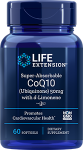 Super-Absorbable CoQ10 (Ubiquinone), 50 mg
