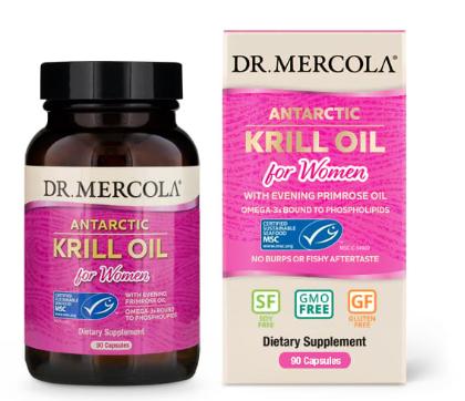 Krill Oil for Women + EPO