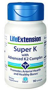 Super K with Advanced K2 Complex, 90 softgels