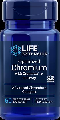 Optimized Chromium with Crominex 3+,  500 mcg, 60 veg caps