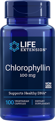 Chlorophyllin, 100 mg, 100 veg caps