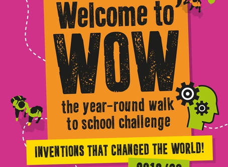 We are now a WOW school!