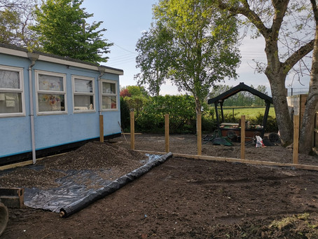 Playgroup building work