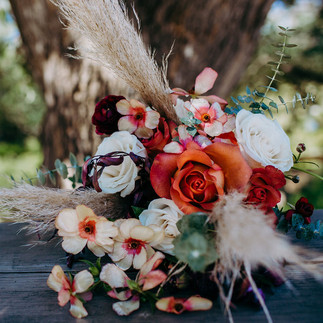 Zoo Wedding Inspiration | Red Truck Flowers