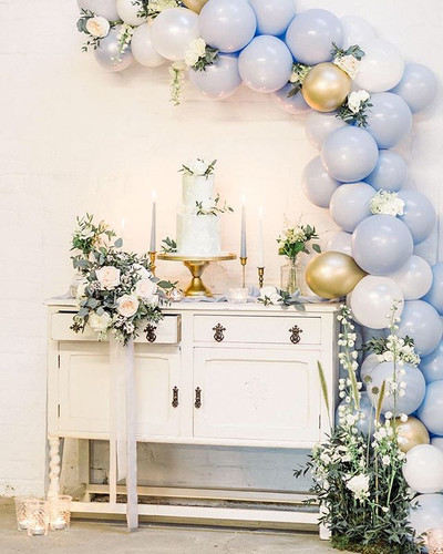 Shades of BLUE 💙 How about a balloon ga