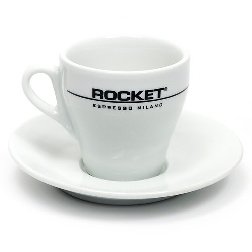 Rocket Espresso - Flat White Cup And Saucer (Set of 6)