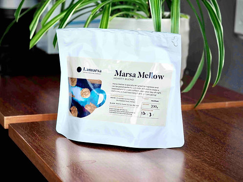 Marsa Mellow Hearty Blend (200g whole coffee beans)