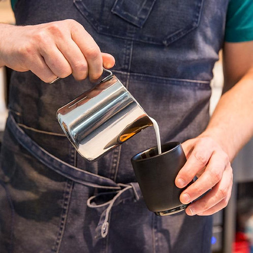 Fellow Monty Milk Art Cup (Cappuccino6.5oz) - Black