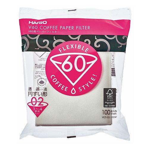 Hario V60 Paper Filter 02 - 100 sheets
